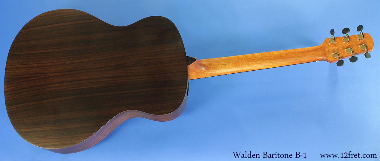 Walden Baritone  B-1 full rear