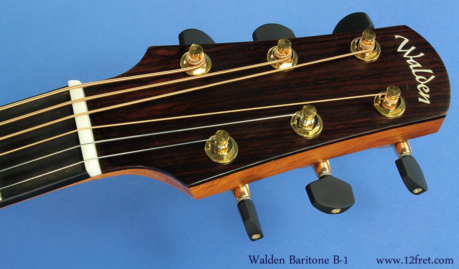 Walden Baritone  B-1 head front