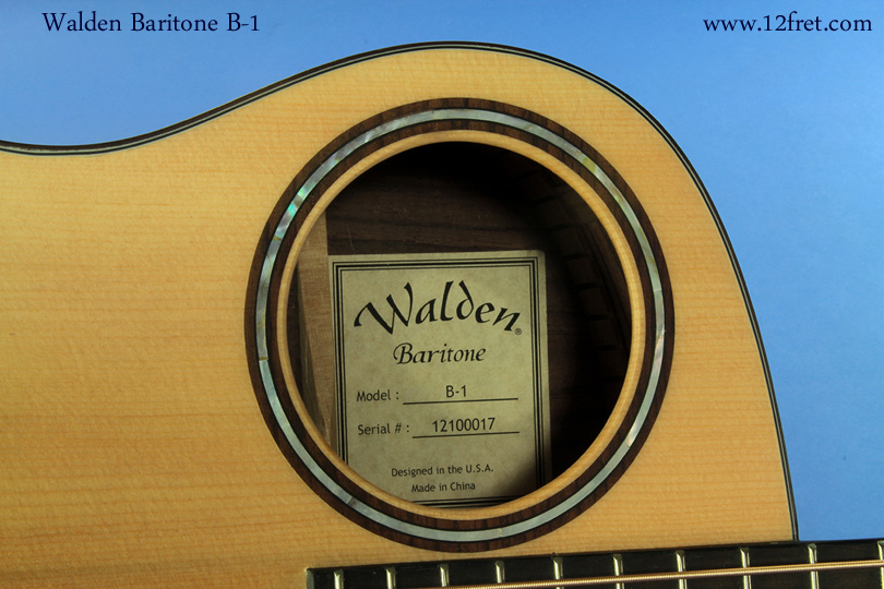Walden Baritone  B-1 rosette
