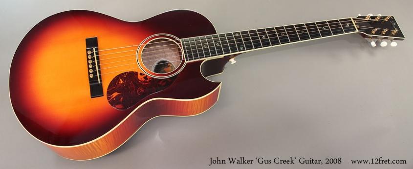 John Walker 'Gus Creek' Guitar, 2008 Full Front View