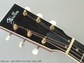 John Walker 'Gus Creek' Guitar, 2008 Head Front