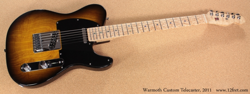 Warmoth Custom Telecaster 2011 full front view