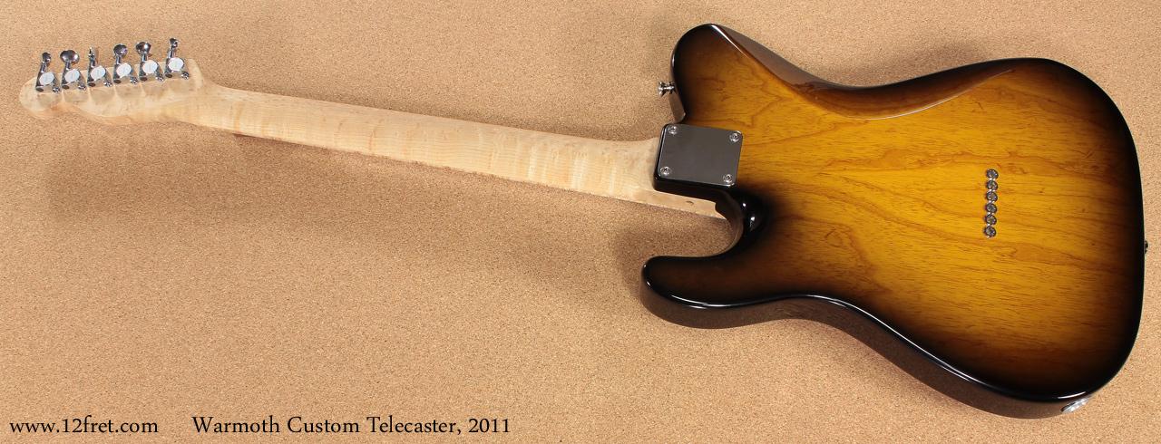 2011 Warmoth Custom Telecaster   www 12fret com
