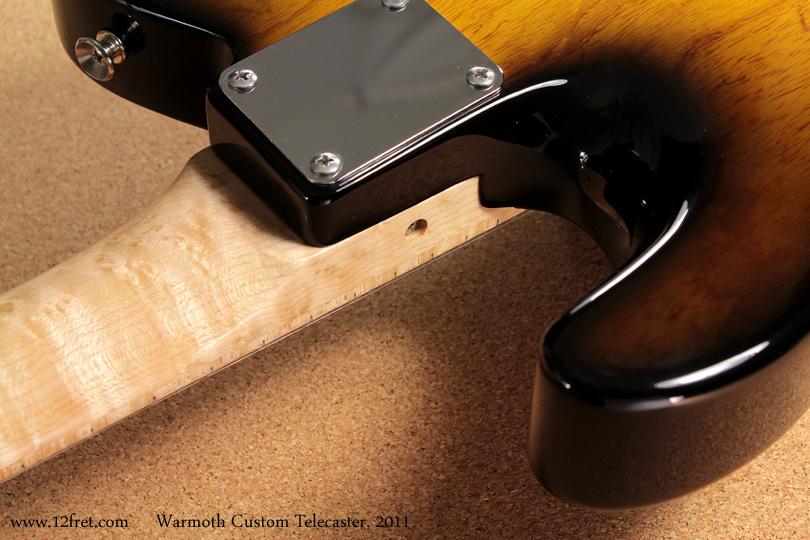 2011 Warmoth Custom Telecaster | www 12fret com