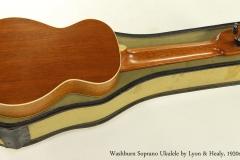 Washburn Soprano Ukulele by Lyon and Healy, 1920s  Full Rear View