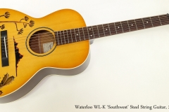 Waterloo WL-K 'Southwest' Steel String Guitar, 2017  Full Front View