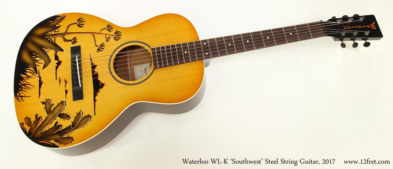 Waterloo WL-K 'Southwest' Steel String Guitar, 2017  Full Front View