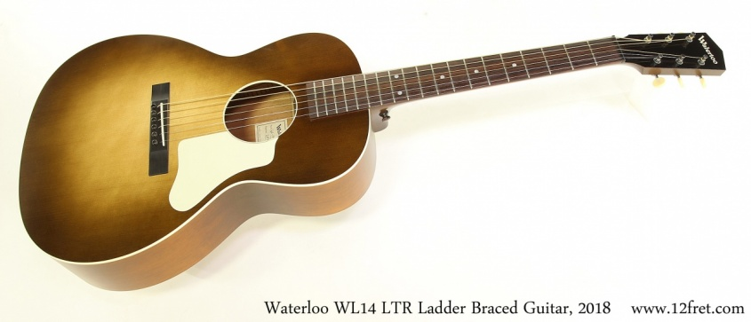 Waterloo WL14 LTR Ladder Braced Guitar, 2018 Full Front View