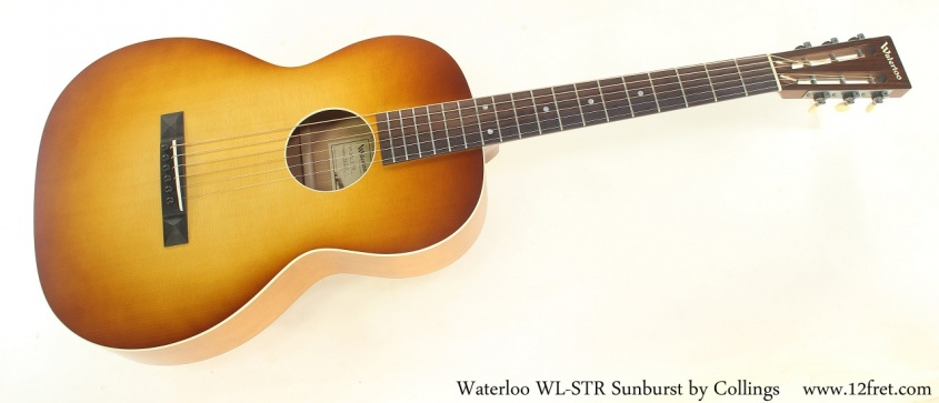 Waterloo WL-STR Sunburst by Collings Full Front View