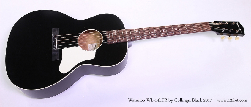 Waterloo WL-14LTR by Collings, Black 2017 Full Front View