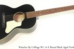 Waterloo WL 14 X Braced Black Aged Finish Full Front View