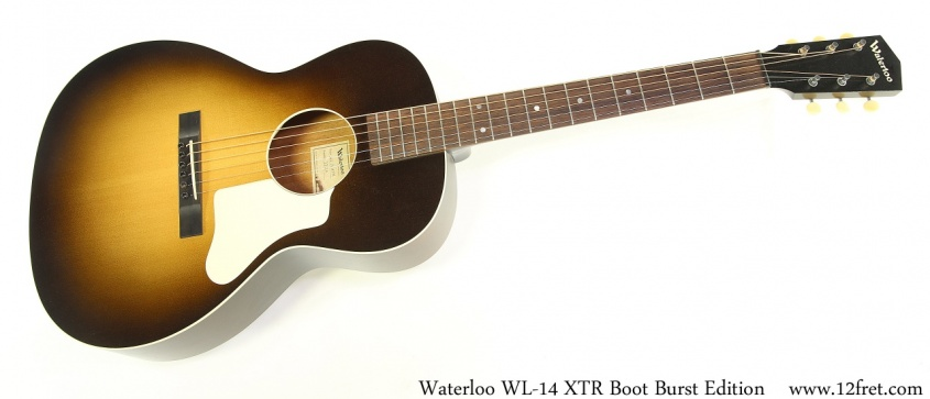 Waterloo WL14 XTR Boot Burst Edition Full Front View