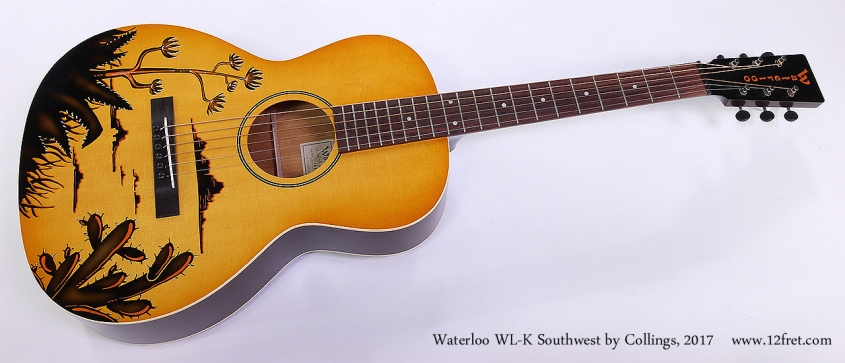 Waterloo WL-K Southwest by Collings, 2017 Full Front VIew