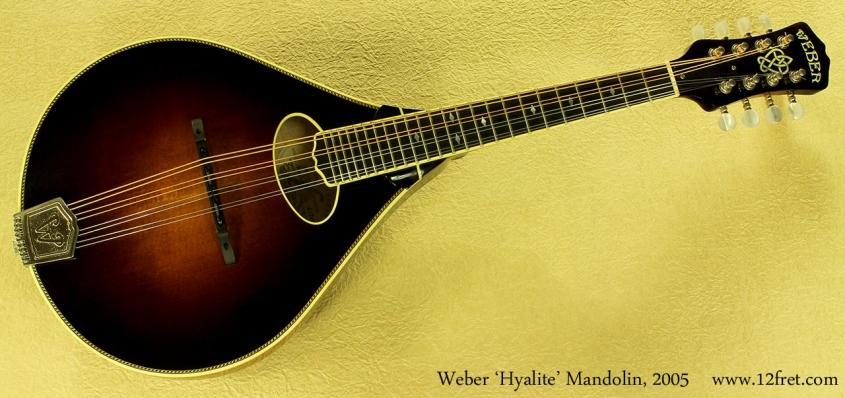 Weber Hyalite Mandolin 2005 full front
