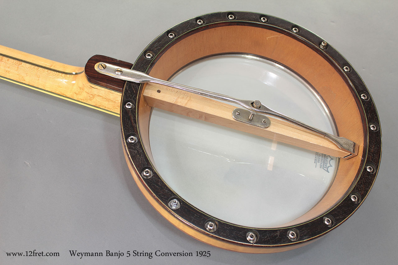 Weymann Banjo 5 String Conversion 1925 open back