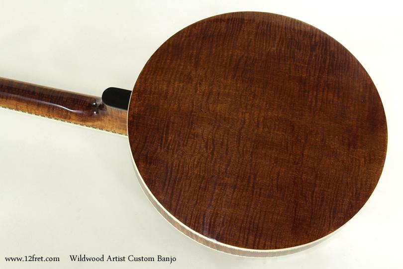 Wildwood Artist Custom Banjo back