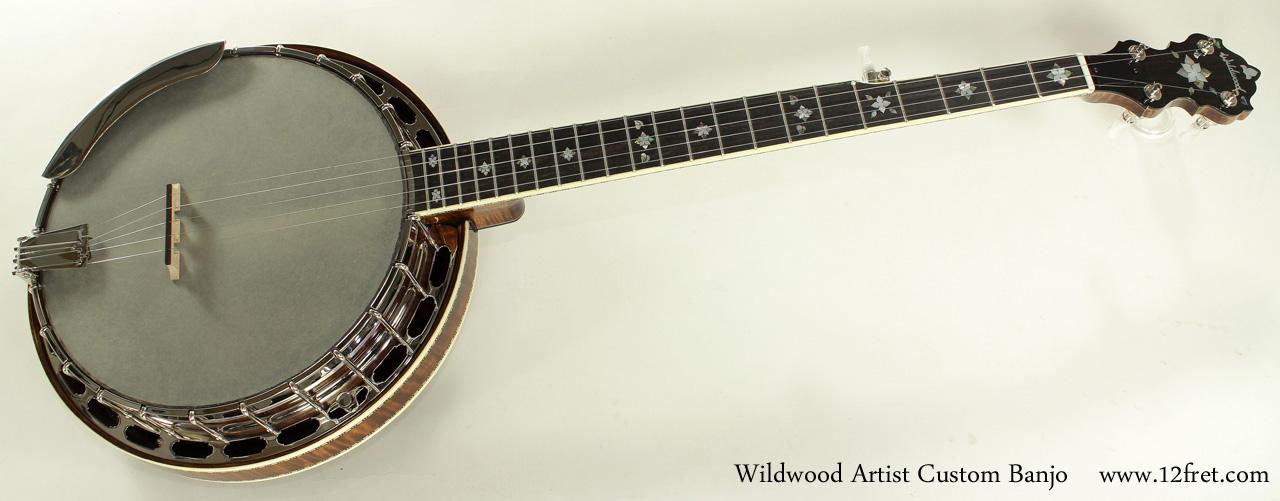 Wildwood Artist Custom Banjo full front view