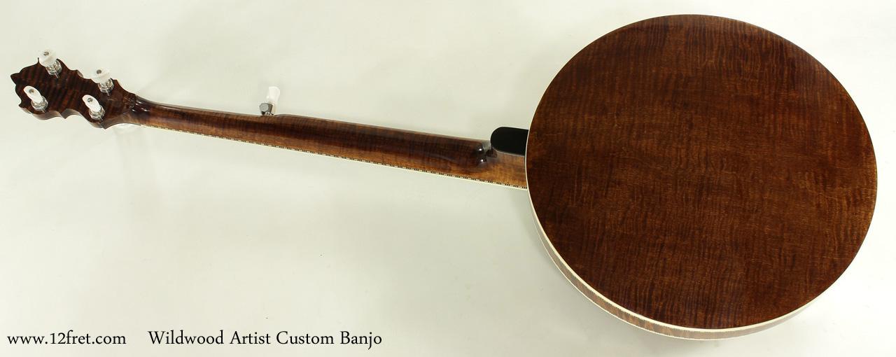 Wildwood Artist Custom Banjo full rear view
