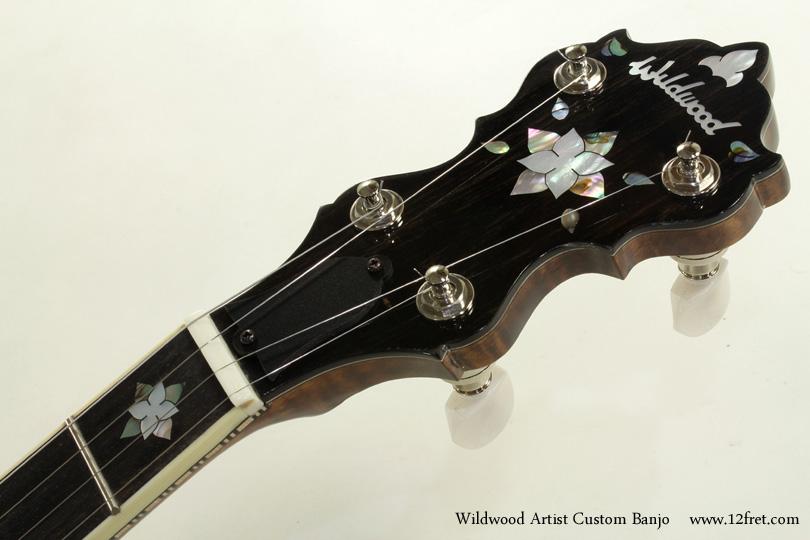 Wildwood Artist Custom Banjo head front