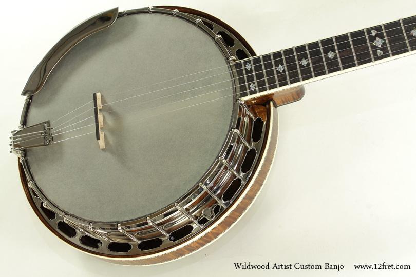 Wildwood Artist Custom Banjo top