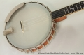 Wildwood Exotic Wood Series Frailing Banjo Top View