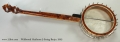 Wildwood Heirloom 5-String Banjo, 2005 Full Rear VIew