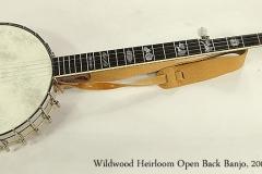 Wildwood Heirloom Open Back 5-String Banjo, 2008 Full Front View
