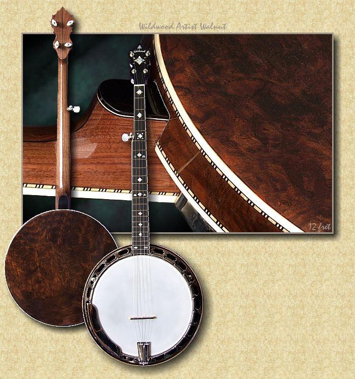 Wildwood_Artist_Walnut_banjo