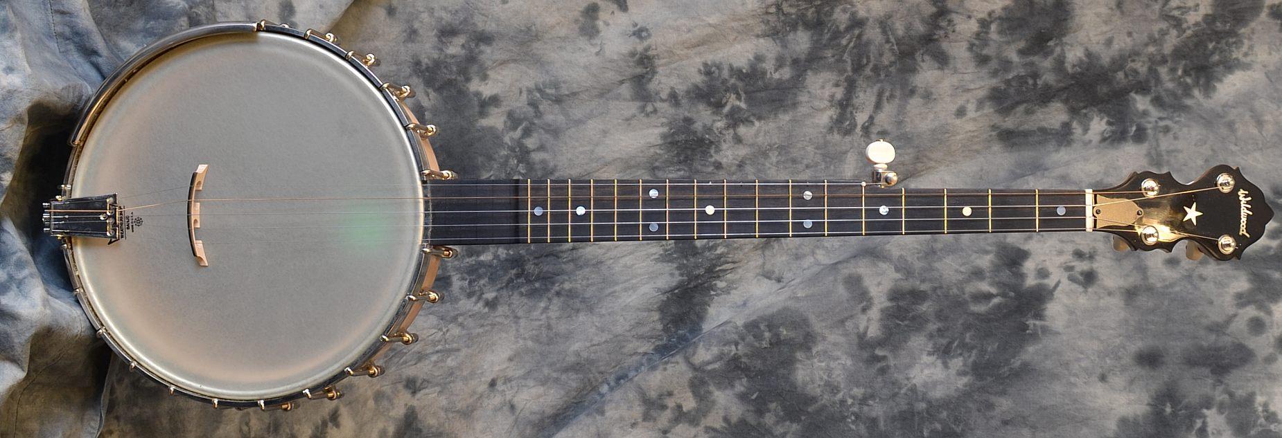 Wildwood Minstrel Open Back Banjo Full Front View