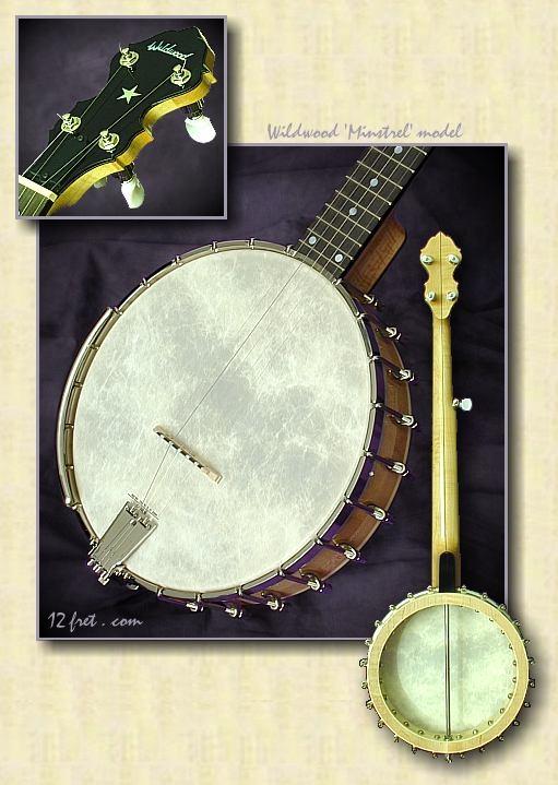 Wildwood Minstrel Banjo Montage