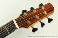 David Wren Concert Brazilian Steel String Guitar, 2015 Head Front View