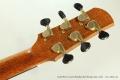 David Wren Concert Brazilian Steel String Guitar, 2015 Head Rear View