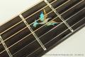 David Wren Concert Brazilian Steel String Guitar, 2015 Inlay View