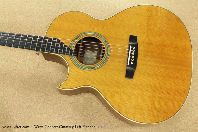 Wren Concert Cutaway Left-Handed 1990 top