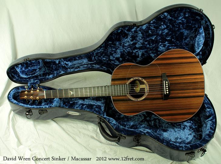 Wren Concert Sinker 2012 case open top view