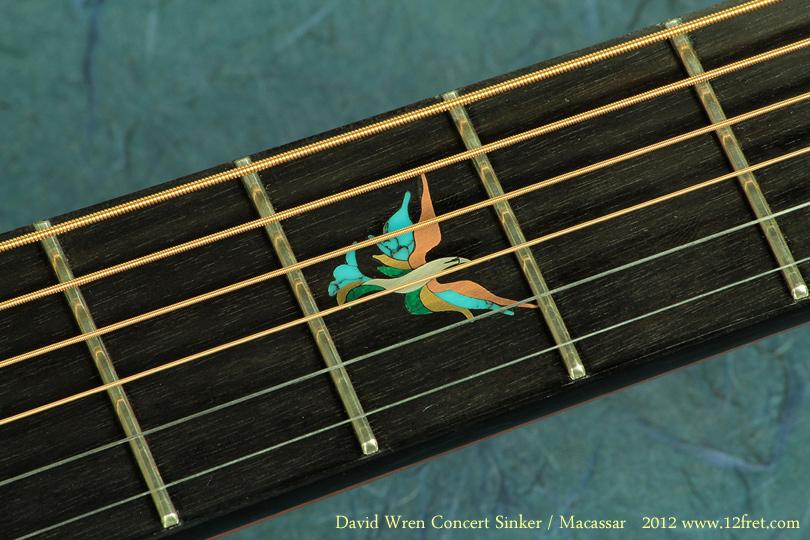 Wren Concert Sinker 2012 inlay