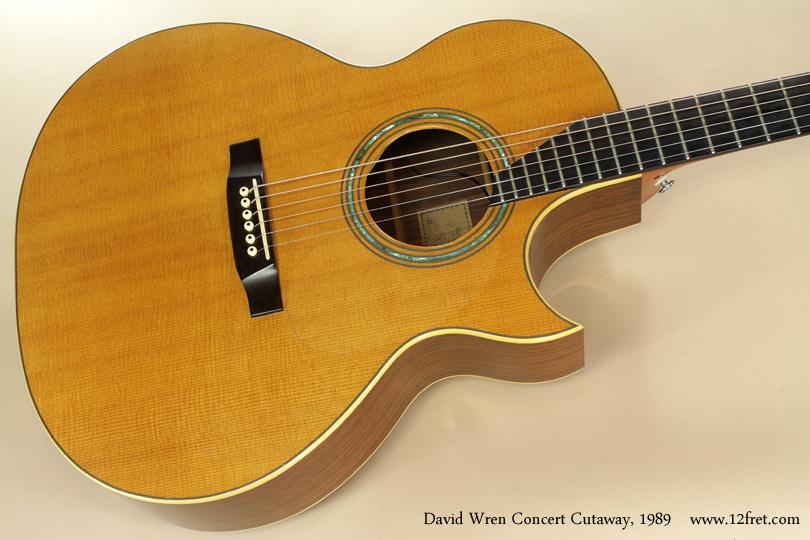 David Wren Concert Cutaway 1989 top