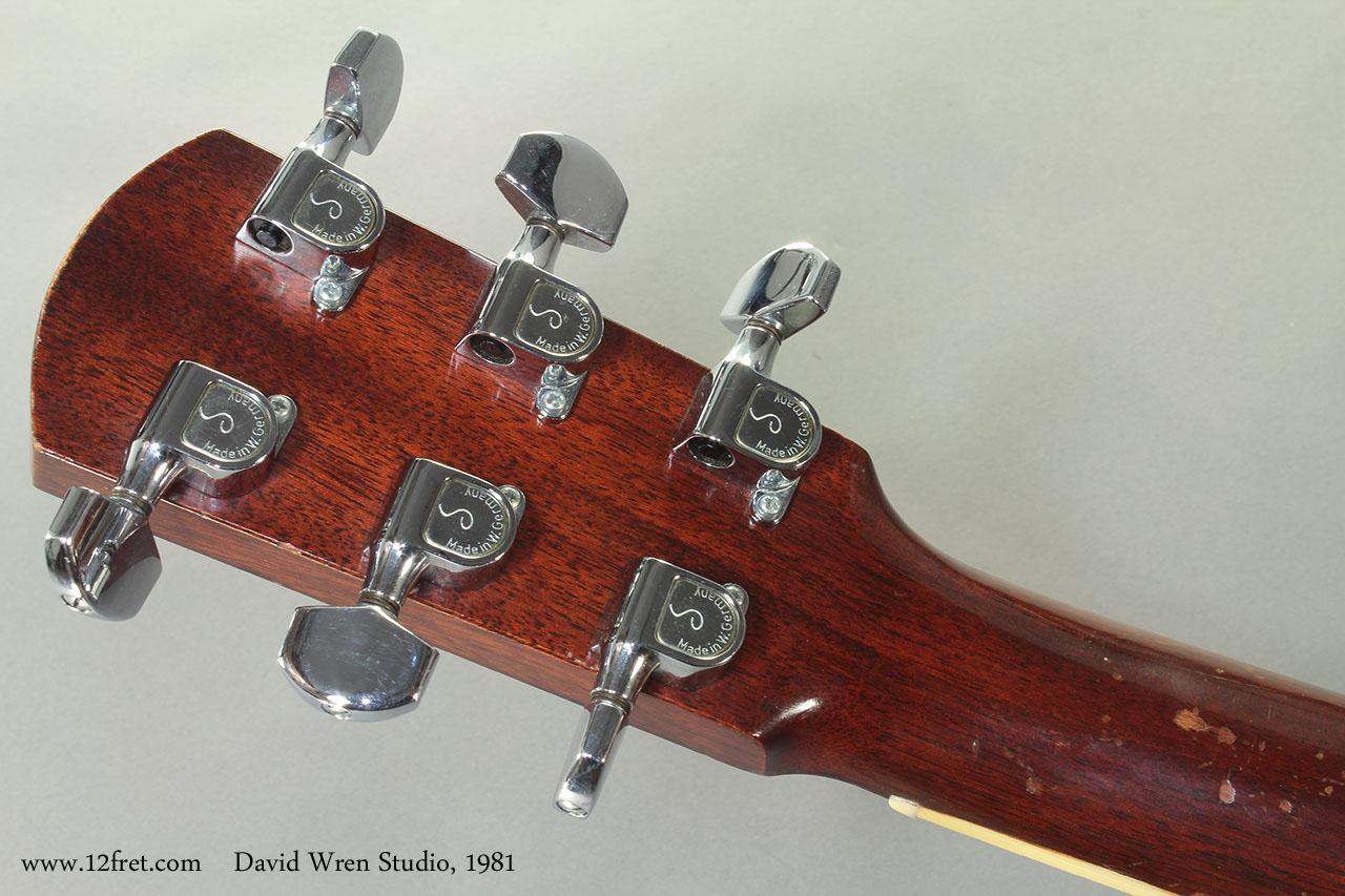 David Wren Studio 1981 head rear