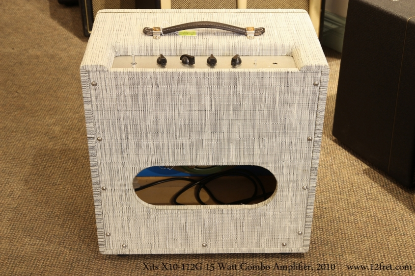 Xits X10-112G 15 Watt Combo Amplifier, 2010   Full Rear View