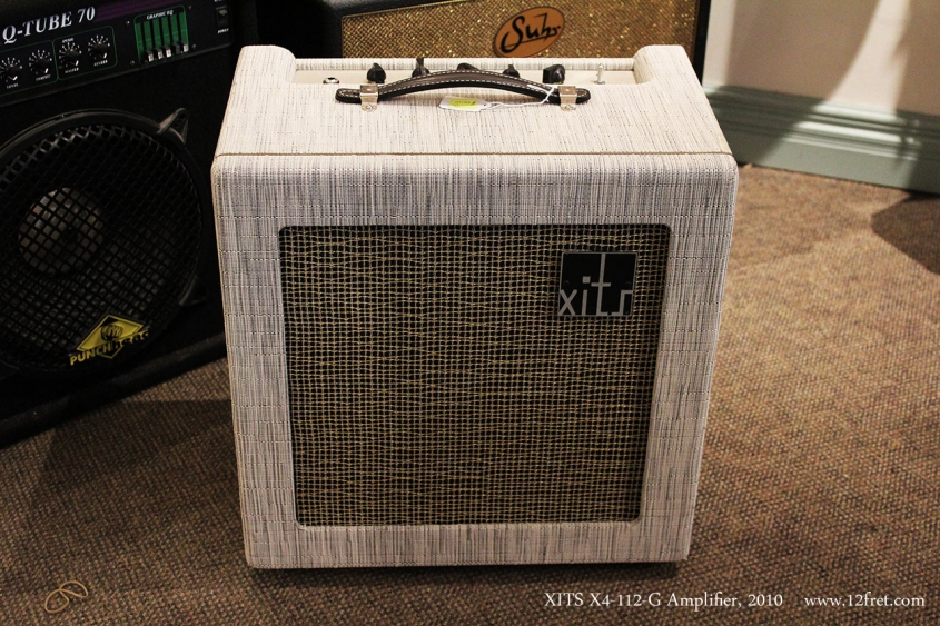XITS X4-112-G Amplifier, 2010 Full Front View