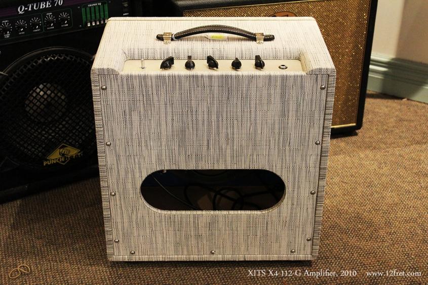 XITS X4-112-G Amplifier, 2010 Full Rear View
