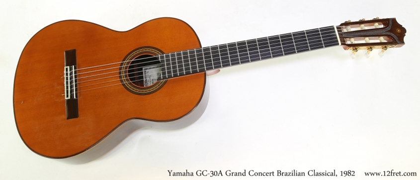Yamaha GC-30A Grand Concert Brazilian Classical, 1982   Full Front View