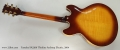 Yamaha SA2200 Thinline Archtop Electric, 2004 Full Rear View