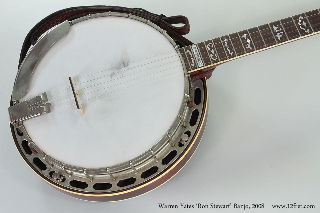 Warren Yates 'Ron Stewart' Banjo, 2008 Top