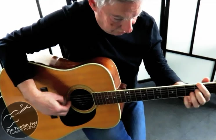 Richard Smyth Video Demo Popular Finger Style Method - The Twelfth Fret