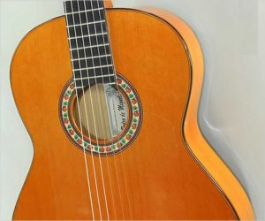 ‼️Reduced‼️ 2002 Pedro de Miguel Flamenco Blanca Guitar