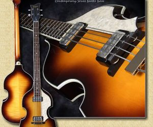 Hofner HCT500 1 SB Violin Bass Contemporary Beatle Bass