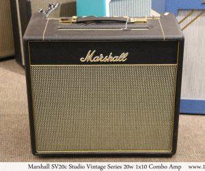 Marshall SV20c Studio Vintage Series 20w 1x10 Combo Amp