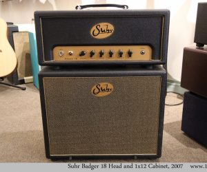 ❌SOLD❌ Suhr Badger 18 Head and 1x12 Cabinet, 2007