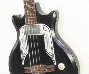 ❌SOLD❌Airline Pocket Bass by Valco, Black 1964
